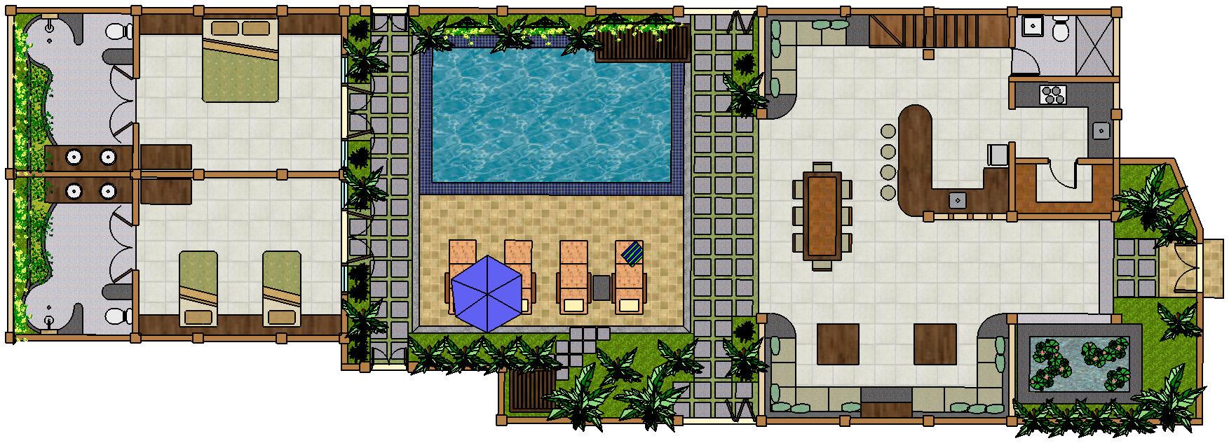 villa-teman-lovina-3-bedroom-villa-floorplan